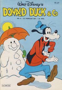 Cover Thumbnail for Donald Duck & Co (Hjemmet / Egmont, 1948 series) #9/1981