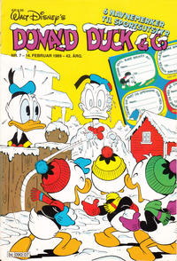 Cover Thumbnail for Donald Duck & Co (Hjemmet / Egmont, 1948 series) #7/1989