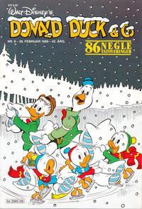 Cover Thumbnail for Donald Duck & Co (Hjemmet / Egmont, 1948 series) #9/1989