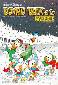 Cover Thumbnail for Donald Duck & Co (Hjemmet / Egmont, 1948 series) #9/1989