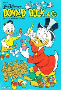 Cover Thumbnail for Donald Duck & Co (Hjemmet / Egmont, 1948 series) #12/1989