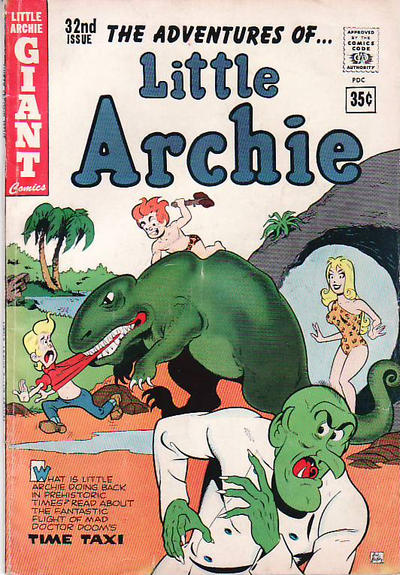 Cover for The Adventures of Little Archie (Archie, 1961 series) #32