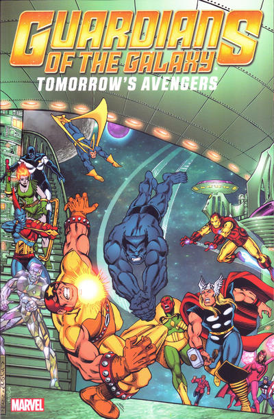 Cover for Guardians of the Galaxy: Tomorrow's Avengers (Marvel, 2013 series) #2