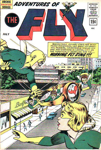 Cover for Adventures of The Fly (Archie, 1960 series) #20