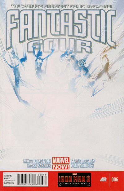 Cover for Fantastic Four (Marvel, 2013 series) #6