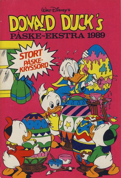 Cover for Donald Duck & Co Ekstra [Bilag til Donald Duck & Co] (Hjemmet / Egmont, 1985 series) #påske 1989