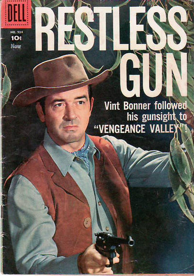 Cover for Four Color (Dell, 1942 series) #934 - Restless Gun