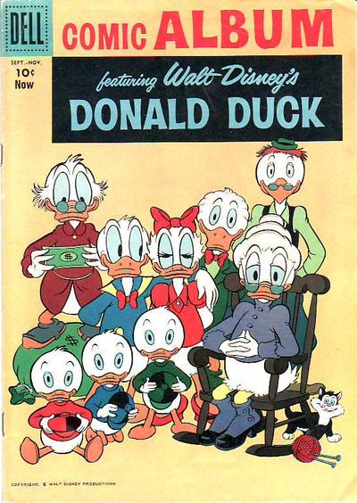 Cover for Comic Album (Dell, 1958 series) #3