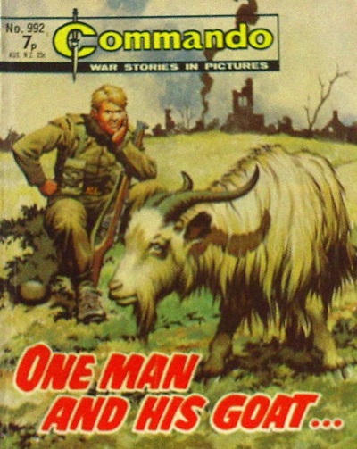Cover for Commando (D.C. Thomson, 1961 series) #992