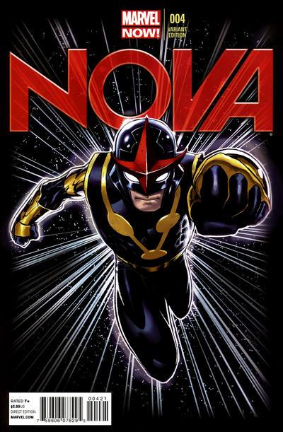Cover for Nova (Marvel, 2013 series) #4 [Ed McGuinness Standard Cover]