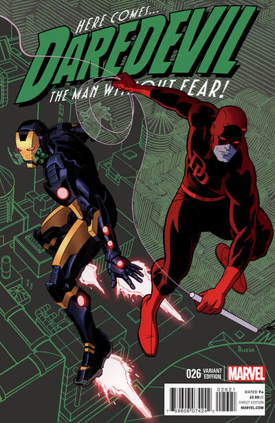 Cover for Daredevil (Marvel, 2011 series) #26