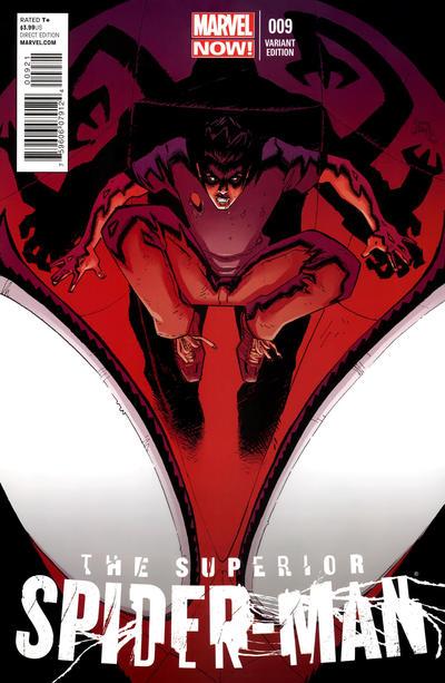 Cover for Superior Spider-Man (Marvel, 2013 series) #9 [Stegman]