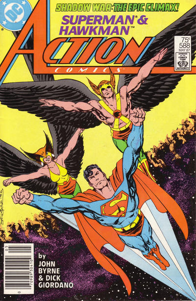Cover for Action Comics (DC, 1938 series) #588 [Direct]