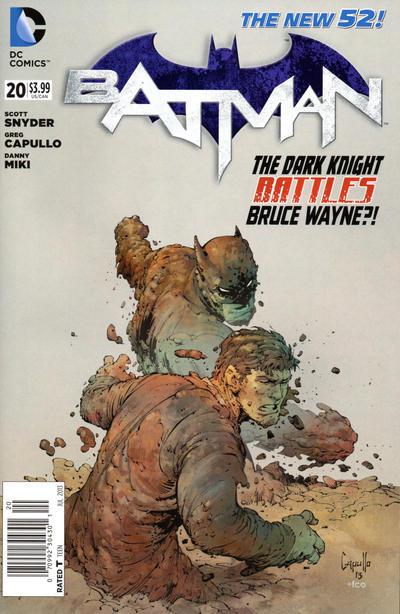 Cover for Batman (DC, 2011 series) #20 [Greg Capullo Black & White Cover]