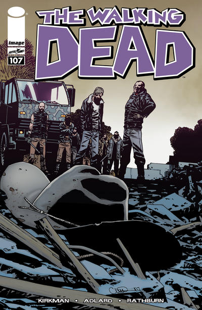 Cover for The Walking Dead (Image, 2003 series) #107