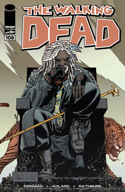 Cover for The Walking Dead (Image, 2003 series) #108