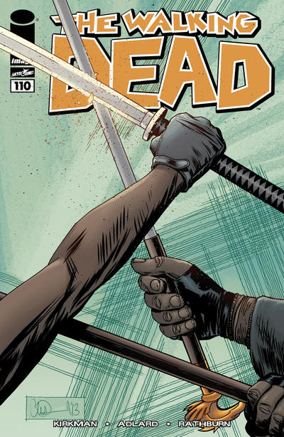 Cover for The Walking Dead (Image, 2003 series) #110
