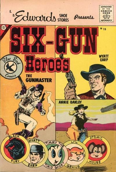 Cover for Six-Gun Heroes (Charlton, 1959 series) #15