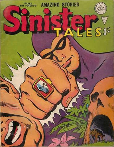 Cover for Sinister Tales (Alan Class, 1964 series) #71