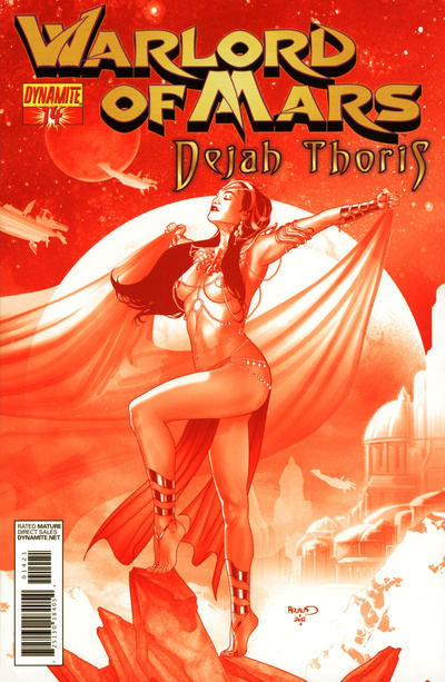Cover for Warlord of Mars: Dejah Thoris (Dynamite Entertainment, 2011 series) #14 [Paul Renaud Cover]