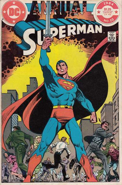 Cover for Superman Annual (DC, 1960 series) #10 [direct-sales]