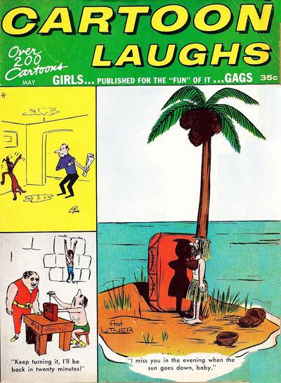 Cover for Cartoon Laughs (Marvel, 1962 series) #v5#1