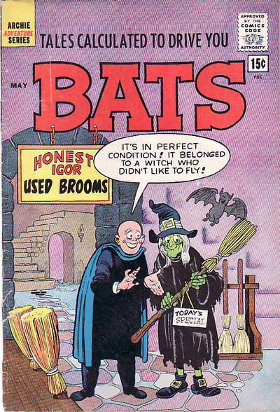 Cover for Tales Calculated to Drive You Bats (Archie, 1961 series) #4