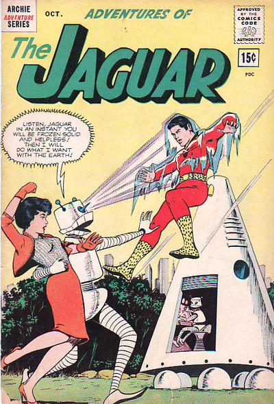 Cover for Adventures of the Jaguar (Archie, 1961 series) #9