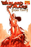 Cover for Warlord of Mars: Dejah Thoris (Dynamite Entertainment, 2011 series) #2 [Paul Renaud Martian Red Retailer Incentive]