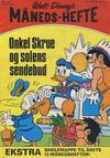Cover for Walt Disney's Månedshefte (Hjemmet / Egmont, 1967 series) #1/1972