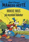 Cover for Walt Disney's Månedshefte (Hjemmet / Egmont, 1967 series) #4/1972