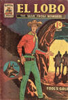 Cover for El Lobo The Man from Nowhere (Cleland, 1956 series) #19
