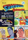 Cover for Superman Supacomic (K. G. Murray, 1959 series) #69