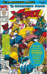 Cover Thumbnail for X-Force (Marvel, 1991 series) #16 [Direct]