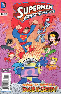 Cover Thumbnail for Superman Family Adventures (DC, 2012 series) #12 [Direct Sales]
