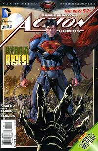 Cover Thumbnail for Action Comics (DC, 2011 series) #21 [Direct Sales]