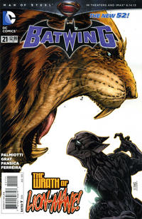 Cover Thumbnail for Batwing (DC, 2011 series) #21