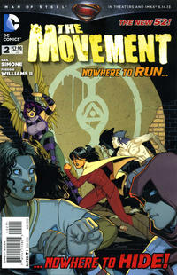 Cover Thumbnail for The Movement (DC, 2013 series) #2