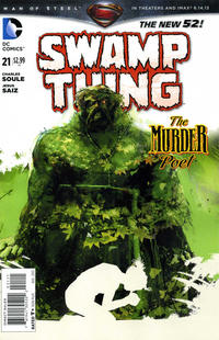 Cover Thumbnail for Swamp Thing (DC, 2011 series) #21