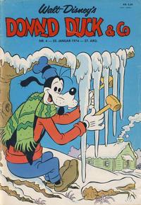 Cover Thumbnail for Donald Duck & Co (Hjemmet / Egmont, 1948 series) #4/1974