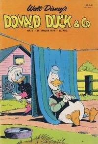 Cover Thumbnail for Donald Duck & Co (Hjemmet / Egmont, 1948 series) #5/1974