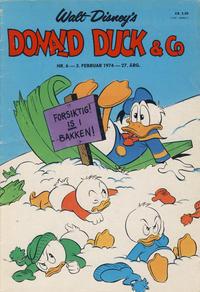 Cover Thumbnail for Donald Duck & Co (Hjemmet / Egmont, 1948 series) #6/1974