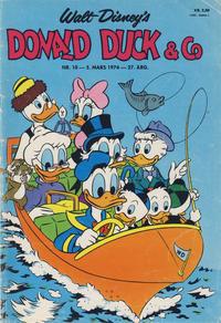 Cover Thumbnail for Donald Duck & Co (Hjemmet / Egmont, 1948 series) #10/1974
