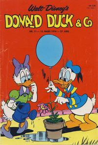 Cover Thumbnail for Donald Duck & Co (Hjemmet / Egmont, 1948 series) #11/1974
