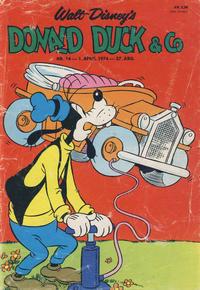 Cover Thumbnail for Donald Duck & Co (Hjemmet / Egmont, 1948 series) #14/1974