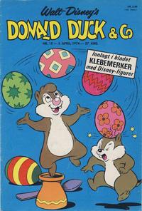 Cover Thumbnail for Donald Duck & Co (Hjemmet / Egmont, 1948 series) #15/1974