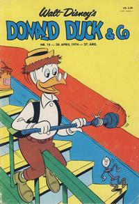 Cover Thumbnail for Donald Duck & Co (Hjemmet / Egmont, 1948 series) #18/1974