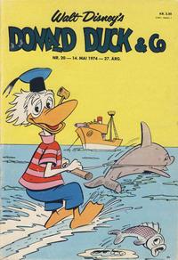 Cover Thumbnail for Donald Duck & Co (Hjemmet / Egmont, 1948 series) #20/1974