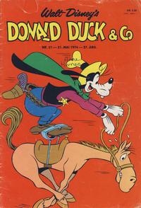 Cover Thumbnail for Donald Duck & Co (Hjemmet / Egmont, 1948 series) #21/1974