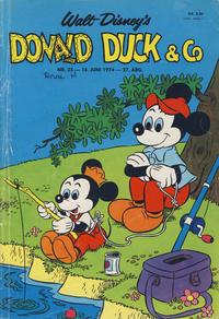 Cover Thumbnail for Donald Duck & Co (Hjemmet / Egmont, 1948 series) #25/1974